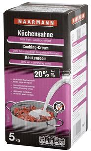 Naarmann H-Küchensahne 20 % Fett 5 kg Box