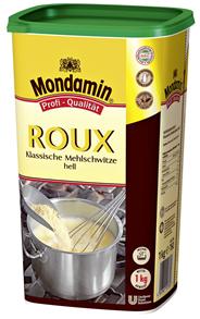 Mondamin Roux klassische Mehlschwitze hell instant 90 x 1 kg Packungen