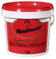 Händlmaier Hausmacher Senf süß, grob geschrotet 84 x 1 kg Eimer