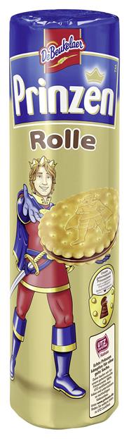De Beukelaer Prinzenrolle Kakao Doppelkekse mit Kakaocremefüllung (46 %) 400 g Rolle