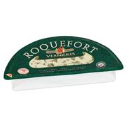 Vernières Frères Roquefort französischer Blauschimmelkäse, 50 % Fett 600 g Packung