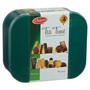 Delacre Tea Time Gebäckmischung Gebäckmischung veredelt mit Schokolade, 2 Stück á 500 g 1 kg Dose