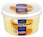 Pomberg Norddeutscher-Krautsalat mit grüner Paprika in würzigem Aufguss 3 kg Eimer