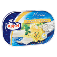 Appel Zarte Heringsfilets in Eier-Senf-Creme 10 x 200 g Dosen