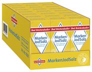 Bad Reichenhaller Marken Jodsalz feinkörnig, mit Zusatz von Fluorid und Folsäure 24 x 500 g Packungen