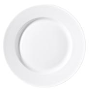 H-Line Dessertteller Fine Dining flach rund 19 cm weiß 6 Stück