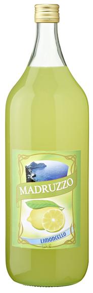 Madruzzo Limoncello 28 % Vol. mit Zitronengeschmack 6 x 2 l Flaschen