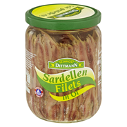 SARDELLENFILETS IN OEL 580ML/350G GLAS