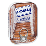 Lysell Appetitsild Würzig pikante Anchovisfilets 90 g