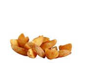 Aviko Spicy Jacket Wedges tiefgefroren, vorgebacken, Kartoffelspalten mit Schale und scharf gewürzter Knusperschicht 2,5 kg Beutel