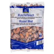 Horeca Select Muschel-Fleisch tiefgefroren, mit Glasur, gekocht, Wildfang, ca. 170 - 255 g Stück/Beutel 10 x 850 g Beutel