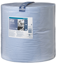 Tork Extra starke Mehrzweck Papierwischtücher W1 Blau 2-lagig 1000 Blatt Rolle