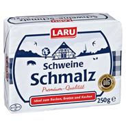 Laru Schweineschmalz 99,7 % Fett 250 g Packung