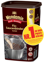 Mondamin Fix-Saucenbinder dunkel 6 x 1 kg Packungen