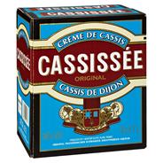 Cassissée Cassis de Dijon 16 % Vol. schwarzer Johannisbeerlikör 6 x 0,7 l Flaschen