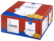 METRO Chef Schweine-Lachsschnitzel tiefgefroren, paniert, 40 Stück à 180 g - 7,2 kg Karton