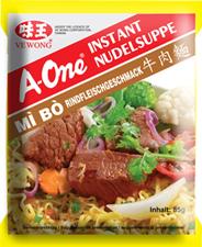 A-One Instant Nudelsuppe Rindfleischgeschmack 85 g