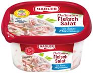 Nadler Fleischsalat mit feiner Salatcreme 400 g Schale