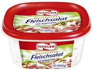 Nadler Fleischsalat mit feiner Salatcreme 6 x 400 g Schalen