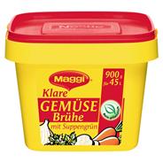 Maggi klare Gemüsebrühe mit Suppengrün 900 g Packung