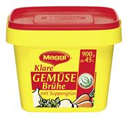 Maggi klare Gemüsebrühe mit Suppengrün 132 x 900 g Packungen
