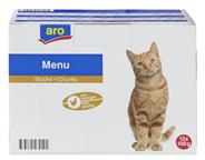 aro Pouch Katze mit Huhn 12 x 100 g Beutel