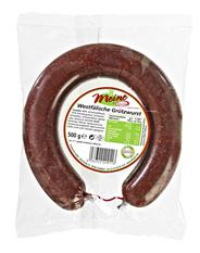 Menken Westfälische Grützwurst im Ring, aus Schweinefleisch 500 g Packung