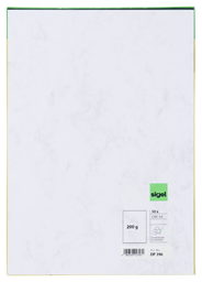 Sigel Marmor-Papier, DIN A4, Grau, 50 Blatt