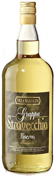 Villa Mazzolini Grappa Stravecchia Riserva 38 % Vol. 1,50 l Flasche