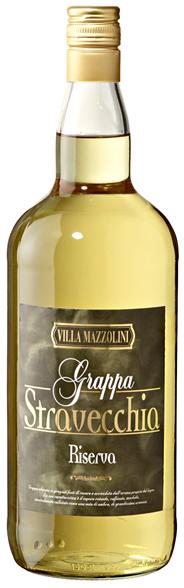 Villa Mazzolini Grappa Stravecchia Riserva 38 % Vol. 6 x 1,50 l Flaschen