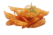 McCain Spicy Potato Wedges tiefgefroren, Kartoffelecken, vorgebacken 4 x 2,5 kg Beutel