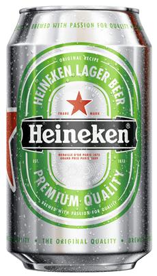 Heineken Dose 24 x 0,33 l Dosen
