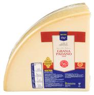 Horeca Select Grana Padano Italienischer halbfetter Hartkäse, 1 Stück à ca. 4 kg, 32 % Fett ca. 4 kg Stücke