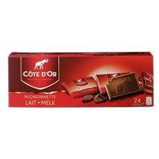 Côte d'Or Mignonnetten Melk Chocolade 24 x 10 g