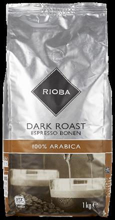 Rioba Koffiebonen Dark roast 8 x 1 kg
