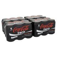 Coca-Cola Zero blik 4 x 6 x 33 cl