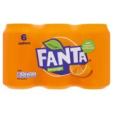 Fanta Orange blik 4 x 6 x 33 cl