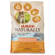 Iams Naturally cat adult north atlantic salmon rice 2,7 kg
