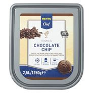 Metro Chef Roomijs Chocolate Chip 2,5 liter