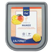 Metro Chef Sorbetijs mango 2,5 liter
