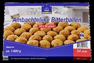 Horeca Select Ambachtelijke rundvleesbitterballen 54 x 30 gram