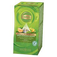Lipton Exclusive Selection Groene Thee Mandarijn Sinaasappel 25 zakjes