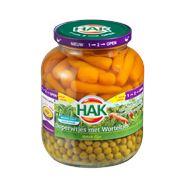 Hak Doperwtjes met worteltjes 12 x 720 gram