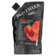 Ponthier Puree Aardbei 1 kg