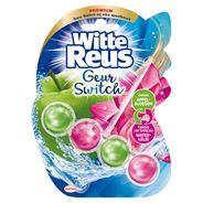 Witte Reus Geur Switch Appelbloesem / Waterlelie Toiletblok 50 g