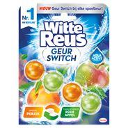 Witte Reus Geur Switch Perzik / Rode Appel Toiletblok 50 g