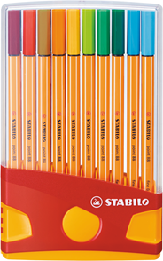 Stabilo Point 88 Colorparade Pennen 20 stuks