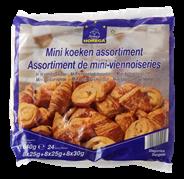 Horeca Select Mini koeken assortiment 24 stuks