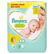 Pampers Premium Protection Maat 1 x72 Luiers 2kg-5kg
