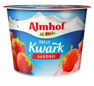 Almhof Volle kwark aardbei 500 gram